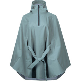 Bergans Oslo 3L Poncho Dame light forest frost